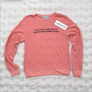 NWT Wildfox sweater/sweatshirt !!
